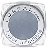 L'Oréal Paris Indefectible Lidschatten, 20 Pebble Grey