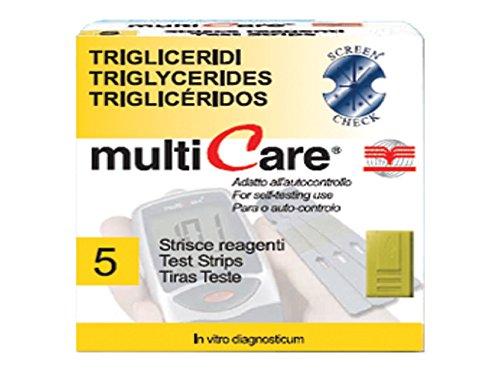 MultiCare Strip Triglyceride, 5Stück, 1Chip