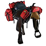 TrailMax 500 Packsystem - Set completo bisacce e borse per sella - Rosso