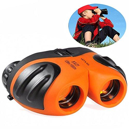 Geschenke für Teenager Jungen Mädchen, DMbaby Compact Shock Proof Fernglas für Kinder Vogelbeobachtung Spielzeug für 3-12 Jahre alte Jungen Spielzeug für 3-12 Jahre alte Mädchen Spielzeug für Kinder Geschenke für 3-12 Jahre alt Orange