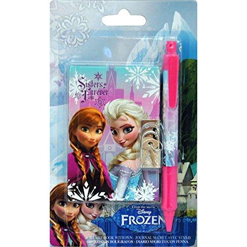 Set libreta + boligrafo Frozen Disney