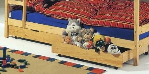 Lits Enfants Tiroirs - Set de 2 tiroirs de rangement sous-lit