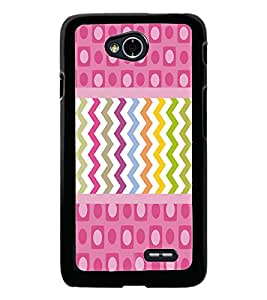 PrintDhaba Pattern D-3790 Back Case Cover for LG L90 (Multi-Coloured)