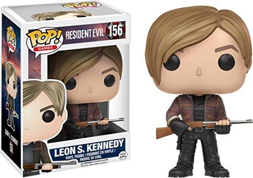 POP! Vinilo - Games: Resident Evil: Leon S. Kennedy