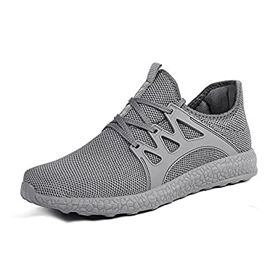 QANSI Uomo Scarpe Confortevoli da Corsa Sneakers Sportivi Leggeri ... 4bacb5df3d3