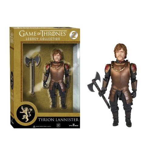 Funko 3910 - Game of Thrones Series 1 Tyrion Lannister Legacy Collection Action Figur, 15 cm