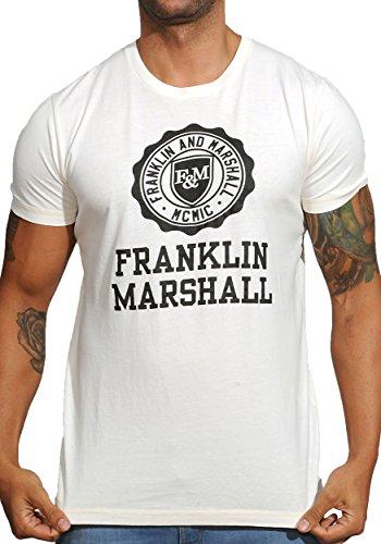 Franklin-Marshall-TSMF352-Logo-Chest-T-shirt