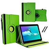 MP Man Android Tablet MPQCG77 - Tablet Case Schutzhülle mit Touch Pen & Standfunktion - 360° Grün 7 Zoll