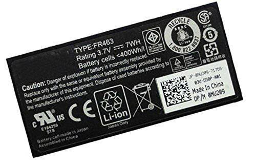 BPXLaptop Battery 3.7V 7WHr Lithium ION Primary Battery for Dell PERC6i and PERC5i Raid Controllers