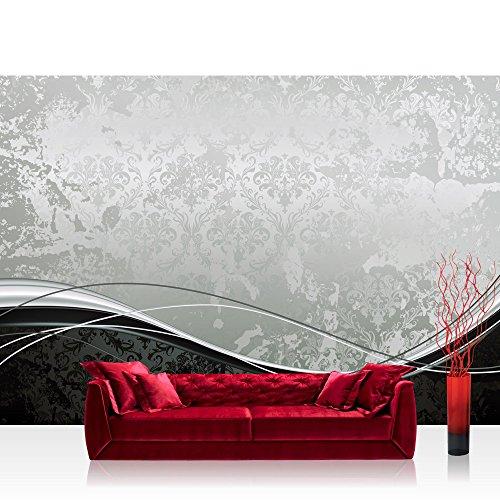 Vlies Fototapete 350x245 cm PREMIUM PLUS Wand Foto Tapete Wand Bild Vliestapete - BAROQUE ORNAMENTS...