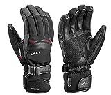 LEKI Performance S GTX Handschuhe (schwarz/rot), 8.5