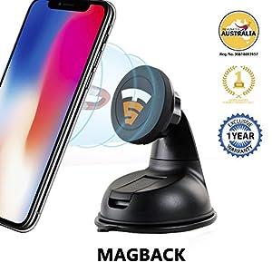 Tech Sense Lab Magback Multi-mount Universal Magnetic Car Phone Holder (2 Pack)