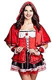 Rotkäppchen Kostüm Faschingskostüm Fasching Karneval Kostümparty Halloween Größen S-L (S)