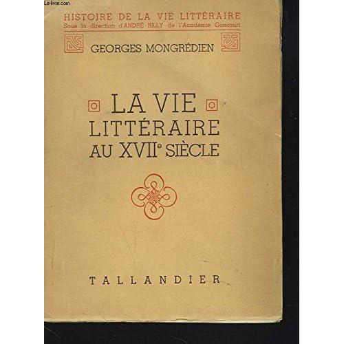 La vie littéraire au XVIIe siècle