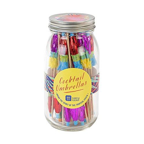 cktail-Schirmchen für tropische Partys, 40st. ()
