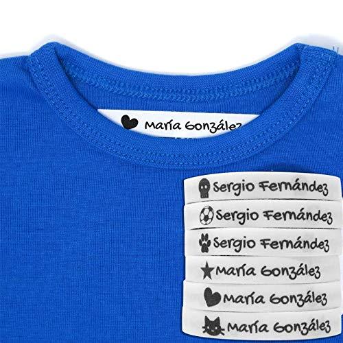 100 Etiquetas Termoadhesivas Personalizadas Icono