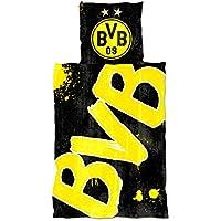 Borussia Dortmund BVB-Bettwäsche Glow in The Dark (135x200cm)