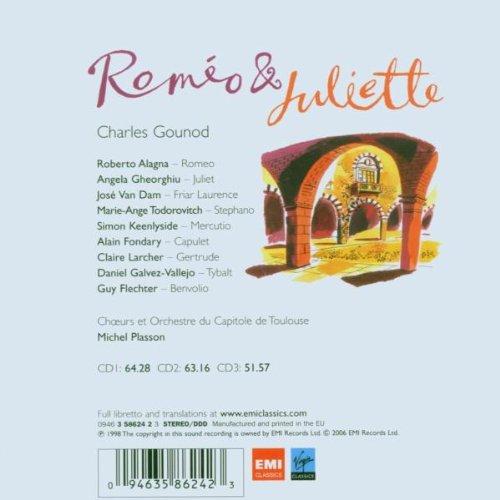 Gounod - Roméo et Juliette / Alagna, Gheorghiu, Van Dam, Keenlyside, Capitole de Toulouse, Plasson