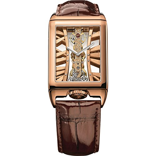 Corum Unisex Golden Bridge Brown Mechanical Analog Watch 113.050.55/0F02 MX55R