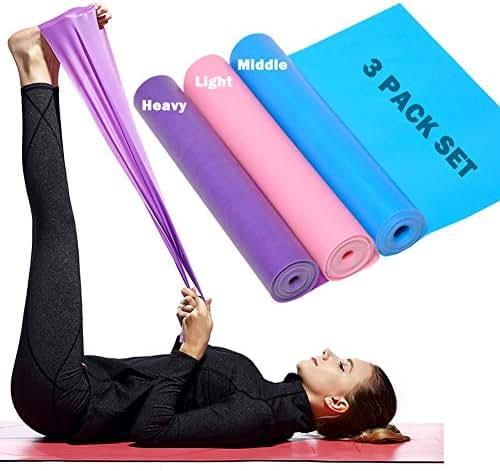 KaariFirefly Fitness Equipment Resistance Band Elastic Gym Workout Training Yoga Tube Rope