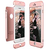 Coque iPhone 6 Plus / 6S Plus, CE-Link 360º full Or Rose