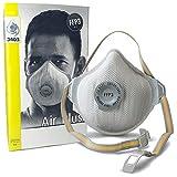 Maschere di protezione delle vie respiratorie Testata FFP3 con filtro per polveri sottili Maschera riutilizzabile Bar - Polvere Maschera Protezione respiratoria