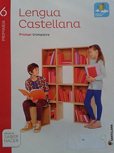 Lengua castellana 6º primaria (mochila ligera)