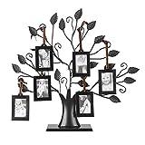 Dewin Marco de Fotos de árbol - 6/12 Árbol de la exhibición de los Marcos de Fotos Familiares de...