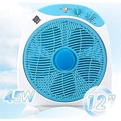 CLIMACITY Ventilateur Boxfan rotatif avec minuteur bn4007