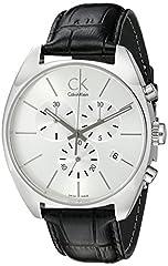 Idea Regalo - Calvin Klein K2F27120 Orologio Cronografo, Uomo