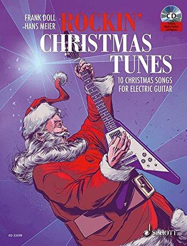 nes: 10 Christmas Songs For Electric Guitar. E-Gitarre. Ausgabe mit CD. ()