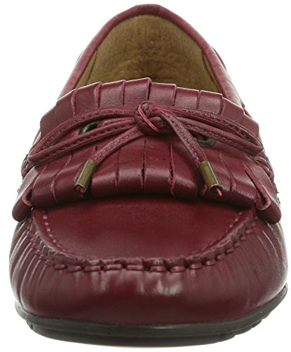 Sebago MERIDEN KILTIE Damen Geschlossene Ballerinas Rot (DK RED LEATHER)
