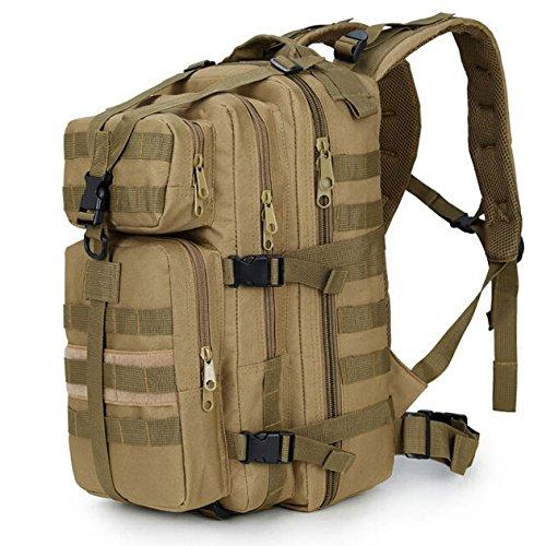 GOUQIN Outdoor Rucksack Klassische Mode Die Neue Erhöhen Outdoor Rucksäcke 35 L Wasserdicht Klettern Taschen Die Karte