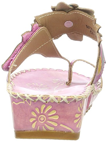 Laura Vita Damen Bryan 20 Pantoletten Pink (LILAS)