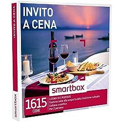 Smartbox - Invito a Cena - 1615 Gustose Cene, Cofanetto Regalo, Gastronomia