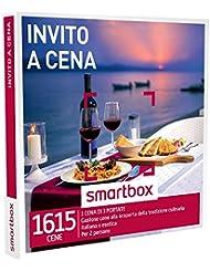 smartbox - Cofanetto Regalo - INVITO A Cena - 1615 gustose cene