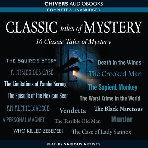 Classic Tales of Mystery  Audiolibri