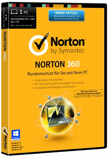 Norton 360 2014 - 1 PC (DVD-Box)
