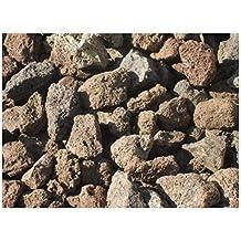 Lavastein Lavasteine Kiesel Kies Pflanzgranulat Bims 75 kg Lava Steine 8-16 mm