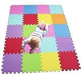MQIAOHAM 20 stücke tragbare edu weiche Kinder infanino Fliesen Toddler Boden großen Teppich außerhalb farbige große CS3009G20PVC