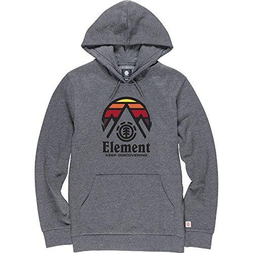 Element Tri Tip Hoodie Charcoal