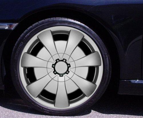Radkappen AXEL silber 14 Zoll Honda Civic, CRX, Jazz, Prelude; Kia Carens, Clarus, Joice, Picanto, Rio (Civic Radkappen Honda)
