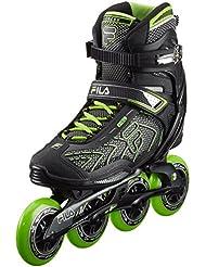 Fila Hombre Inline Skate Plume 90, negro/verde, 42, 010616060