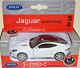 Welly Nex Modellauto Jaguar F-Type Coupe Nr. 43699 weiss