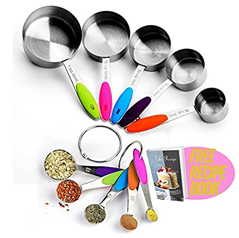 The Measuring Spoons™ ★The perfect spoons to measure ★Eco-friendly material