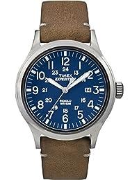 Timex - TW4B0180- Montre Homme - Quartz - Analogique - Eclairage - Bracelet cuir Bleu