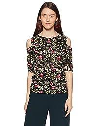 Style Quotient by noi Women's Plain Regular Fit Top