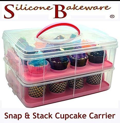 Einstellbare Fang und Stapel 2-Schicht -Kuchen- Halter und Kuchen Träger