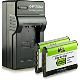 Chargeur + 2x Batterie NP-BX1 pour Sony Cyber-shot DSC-HX50 DSC-HX60 DSC-HX80 DSC-HX90 DSC-HX300 DSC-HX400 DSC-RX1 RX1R II DSC-RX100 RX100 II RX100 III RX100 IV RX100 V DSC-WX300 DSC-WX350