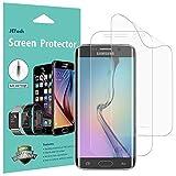 JETech Schutzfolie für Samsung Galaxy S6 Edge, TPE HD Bildschirmschutzfolie, 2 Stück